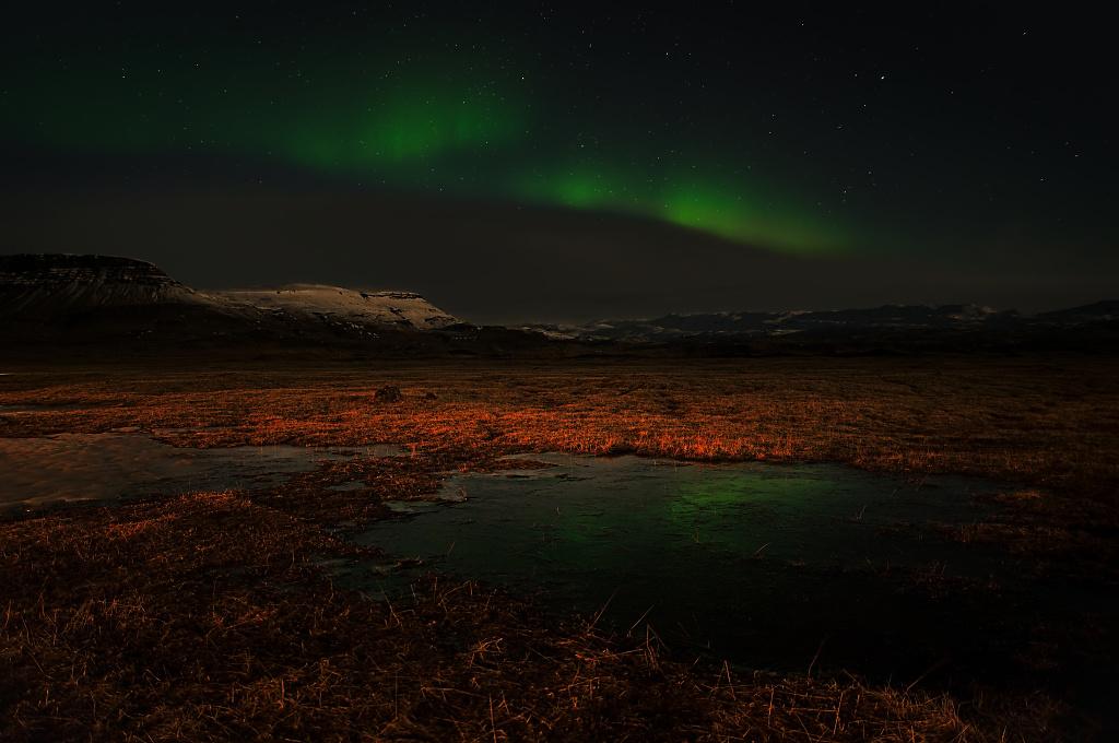 Aurora Borealis from Kalfafell