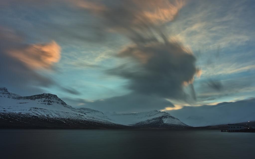 Fierce winds, Fáskrúðsfjörður
